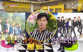 """Xen vào cuộc cãi vã giữa fan EXO và BTS, Yunho """"đắng lòng"""" gặp phải tình huống dở khóc dở cười"""