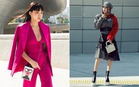 """Ninh Dương Lan Ngọc """"quái"""" đến không nhận ra, Hoa hậu Jolie Nguyễn sexy tại Seoul Fashion Week"""
