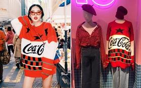 Dù đã đường ai nấy đi, Châu Bùi vẫn diện áo của shop Decao sang tận Seoul khoe street style chất miễn bàn