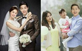 Chưa kết hôn, Song - Song đã có bộ ảnh cưới và album ảnh gia đình bên quý tử đầu lòng không thể chất hơn!