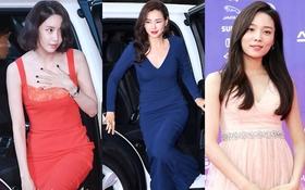"""Thảm đỏ The Seoul Awards: """"Hoa hậu Hàn đẹp nhất thế giới"""" chiếm hết spotlight, Yoona (SNSD) liên tục dùng tay che vòng 1 khiêm tốn"""