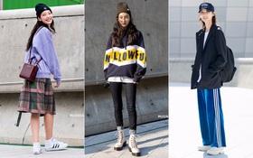 Chỉ dạo phố mà giới trẻ Hàn vẫn lên đồ đẹp hết nấc, không học hỏi đôi chút thì quả là phí