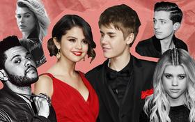 """Yêu kiểu Justin - Selena: Biến dàn bồ cũ toàn trai tài gái sắc thành đội quân cameo """"yêu nháp"""""""