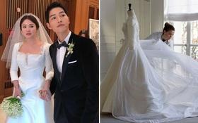 HOT: Dior hé lộ những bức hình hiếm có về quá trình tạo nên chiếc váy cưới của Song Hye Kyo