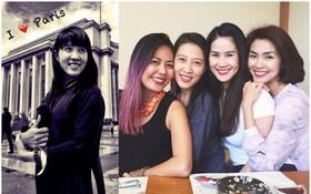 """""""Sẻ lớn"""" Thùy Trang: Mỹ nhân kín tiếng nhất trong hội bạn tri kỉ hơn 10 năm của Tăng Thanh Hà"""