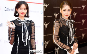"""Màn """"đụng hàng của năm"""": Chi Pu mặc trước thì bị chê sến, Yoona mặc sau lại được khen như nữ thần!"""