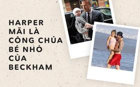 Loạt ảnh chứng minh: Dù lớn thế nào, Harper vẫn sẽ luôn là công chúa nhỏ trong vòng tay che chở của Beckham