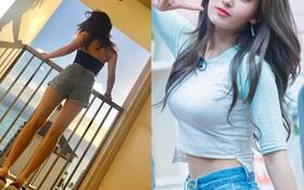 Nảy nở và quá sexy, thật không thể tin nổi đây là thân hình của nữ thần tượng chỉ mới 16 tuổi