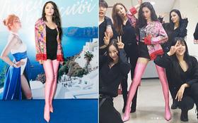 Chẳng hiểu thế nào mà bỗng dưng Hương Giang giống Sunmi (Wonder Girls) từ cọng tóc trở đi thế này!