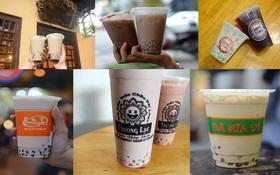 Trước khi có Gongcha, Royaltea, Dingtea... đây là những quán trà sữa đầu tiên của giới trẻ Hà Nội