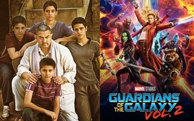 """""""Guardians of the Galaxy 2"""" bị đô vật Ấn Độ đánh """"sấp mặt"""" tại Trung Quốc"""