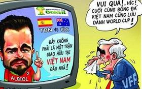 Những lần bóng đá Việt Nam không biết trốn vào đâu cho đỡ xấu hổ