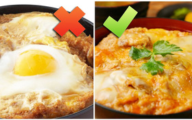 Nhầm tưởng nhiều người mắc về món thịt trứng Katsudon trứ danh của người Nhật
