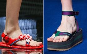"""Nhìn mấy đôi giày lạ này mới hiểu """"dép lau nhà"""" hay """"dép đi chợ"""" của Zara học hỏi từ đâu"""