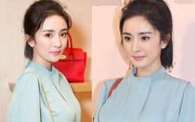"""Chán khoe chân """"triệt để"""", Dương Mịch khiến netizen phải ngẩn ngơ vì nhan sắc xinh đẹp"""