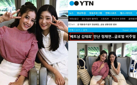 """Đọ sắc bên nữ thần Jung Chae Yeon, Chi Pu được báo Hàn đồng loạt gọi là """"Kim Tae Hee Việt Nam"""""""