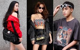 Ngày thường đã ăn diện, dịp nghỉ lễ giới trẻ Việt càng tích cực khoe street style bắt mắt
