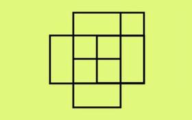 90% dân số không thể biết được có tất cả bao nhiêu hình vuông ở đây
