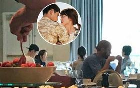 Lộ clip hiếm hoi Song - Song ăn sáng tại nhà hàng Mỹ trong chuyến du lịch chụp hình cưới