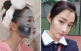 """Săm soi """"bạn gái Luhan"""" Quan Hiểu Đồng, hóa ra cô nàng toàn dùng đồ vài trăm nghìn mà da đẹp không tì vết"""