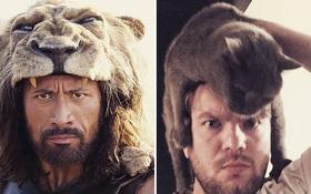 Thánh cosplay rẻ tiền người Nga dùng đồ đồng nát để biến hình thành các nhân vật