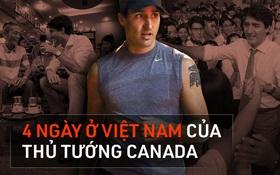 Nhìn lại những khoảnh khắc ấn tượng của Thủ tướng Canada Justin Trudeau trong 4 ngày ở Việt Nam