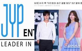 JYP và MYM Entertainment cuối cùng cũng đã lên tiếng về tin Suzy và Lee Min Ho chia tay