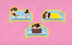 Nhìn 3 cặp đôi này, bạn thích cặp nào nhất, điều đó sẽ nói lên cá tính của bạn trong tình yêu