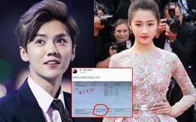 Trác Vỹ gây sốc khi tung bằng chứng: Chưa kết hôn, bạn gái kém 7 tuổi của Luhan đã có thai