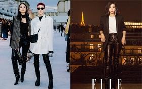Kelbin Lei, Nga Nguyễn siêu chất, xuất hiện cùng Lee Jong Suk, Victoria f(x) tại show Saint Laurent