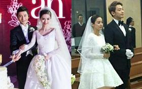 """Hôn lễ của Angela Baby và Kim Tae Hee: Cùng giàu có bậc nhất showbiz nhưng đám cưới lại khác """"một trời một vực"""""""