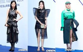 """Seoul Fashion Week ngày 2: Tiffany và Seohyun lộng lẫy bao nhiêu, Hyoyeon lại bị stylist """"dìm hàng"""" bấy nhiêu"""