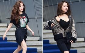 Seoul Fashion Week ngày 4: Thành viên của nhóm nhạc kém nổi Rainbow sexy nổi bật lấn lướt nhiều đàn chị