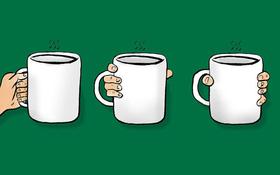 Thói quen cầm cốc tiết lộ điều bạn đang theo đuổi trong cuộc sống