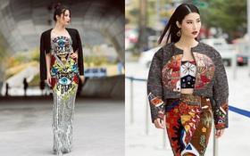Cập nhật Seoul Fashion Week: Diễm My 9x diện đầm sequin lóng lánh đánh bay phong cách street style