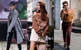 Street style 2 miền: Miền Nam áo đơn áo kép, miền Bắc chuộng màu mùa thu