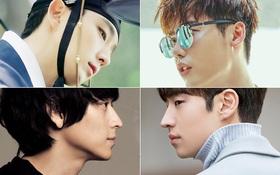 """Tuyển tập những chiếc mũi nhọn như... """"cắt được thịt"""" của loạt mỹ nam đình đám xứ Hàn"""