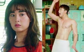 Park Seo Joon cởi trần hát rống, Kim Ji Won đắp lông mày không đỡ nổi!
