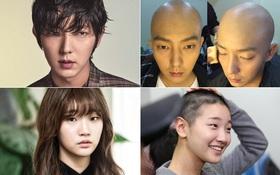 Được mấy sao Hàn dũng cảm trọc đầu vì vai diễn như 11 người này?