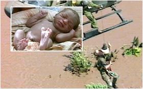 Chào đời trên ngọn cây giữa trận lũ lịch sử khiến 800 người chết, 17 năm sau, cuộc đời cô bé này đã hoàn toàn thay đổi