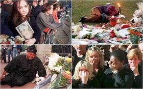 Nhìn những hình ảnh này, người ta mới thấu hiểu người dân Anh đã đau đớn nhường nào khi biết tin Công nương Diana qua đời
