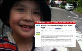 Vụ bé gái người Việt được phát hiện tử vong sau 2 ngày mất tích gây chấn động Nhật Bản