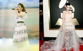 Bích Phương mặc váy nhái hay đây chỉ là trùng hợp ngẫu nhiên?
