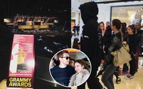 Bi Rain và Kim Tae Hee nắm tay không rời đi mua sắm, gây bất ngờ khi xuất hiện tại Grammy