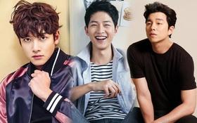 Tin hỉ dồn dập, Song Joong Ki đứng đầu về danh tiếng, vượt mặt Gong Yoo và loạt sao nam hạng A