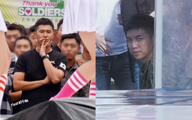 Cùng là ngắm girlgroup trong quân ngũ, ánh mắt của Yunho và Lee Seung Gi lại khác nhau một trời một vực