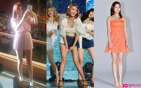 Dispatch tung danh sách các mỹ nhân có đôi chân dài nhất nhì showbiz Hàn