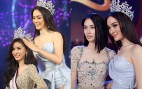 Hoa hậu chuyển giới Thái Lan 2017, Nong Poy, cựu Hoa hậu trong cùng một khung hình: Ai đẹp hơn?