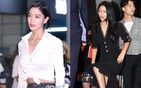 """""""Báu vật quốc dân"""" Seolhyun ngày càng đẹp xuất sắc, mỹ nhân ngực khủng Clara suýt bục cúc áo"""