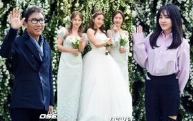 """Hôn lễ đẹp nhất xứ Hàn: S.E.S tái hợp, chủ tịch SM Lee Soo Man cùng dàn sao """"khủng"""" xuất hiện"""